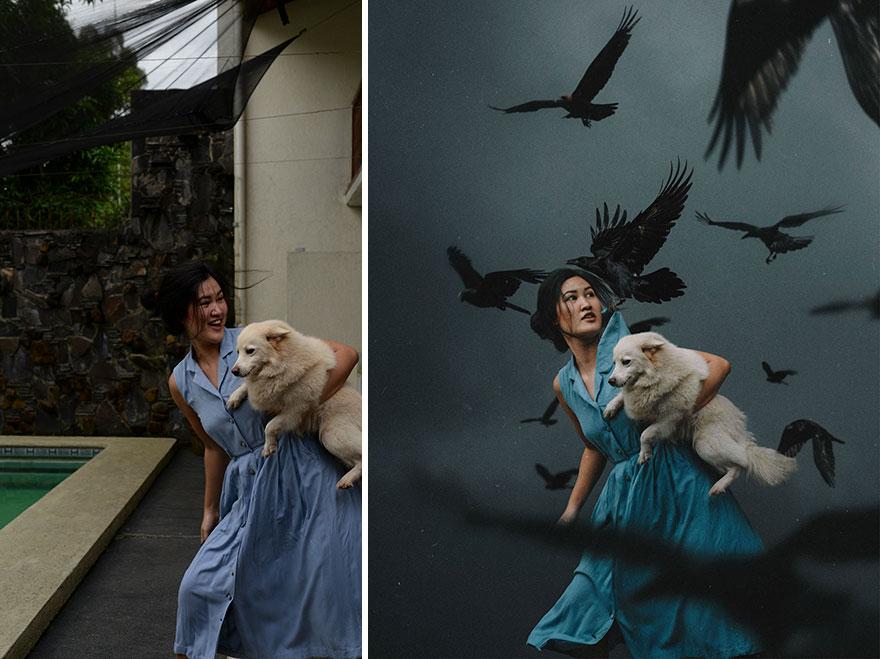 20 фото из заднего двора, которые художница превратила в сказочные картинки! рис 3