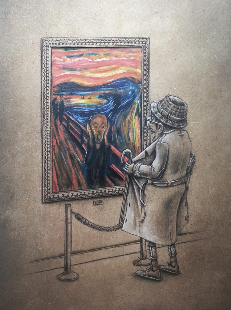 15 рисунков о том, что происходит в параллельной реальности прямо сейчас! :) рис 3