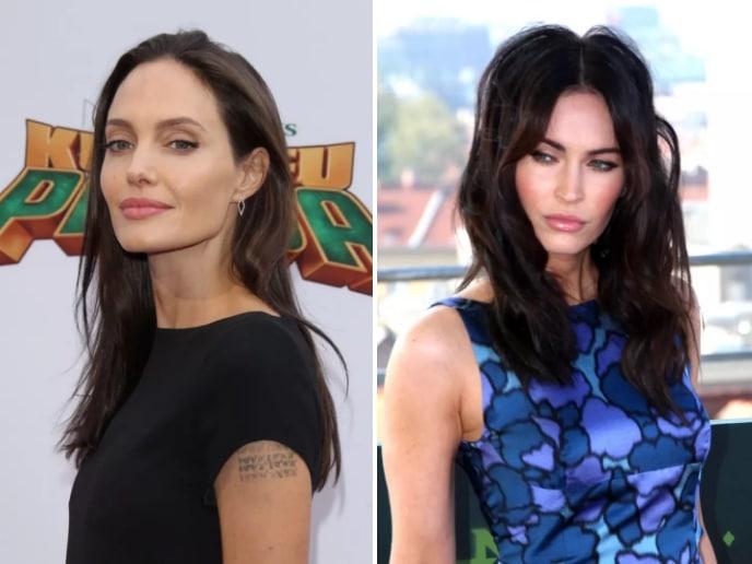 Знаменитости: Анджелина Джоли и Меган Фокс