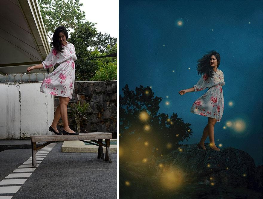 20 фото из заднего двора, которые художница превратила в сказочные картинки! рис 5
