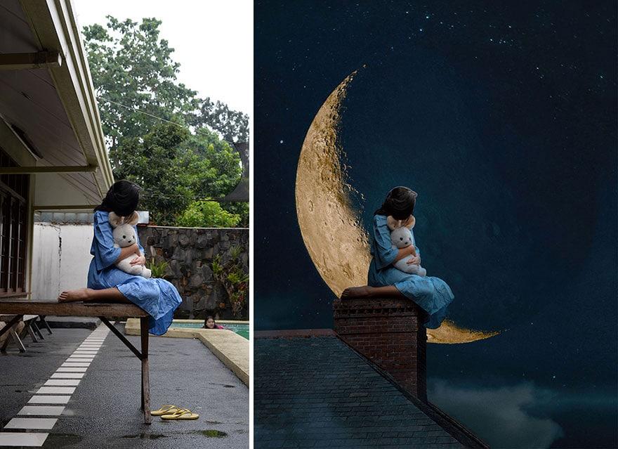 20 фото из заднего двора, которые художница превратила в сказочные картинки! рис 6