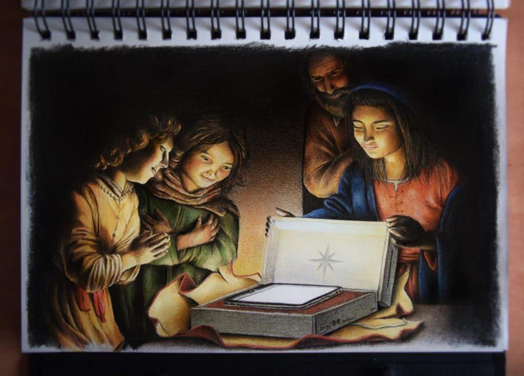 15 рисунков о том, что происходит в параллельной реальности прямо сейчас! :) рис 6
