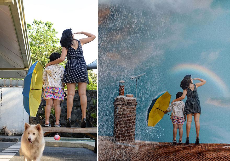 20 фото из заднего двора, которые художница превратила в сказочные картинки! рис 7