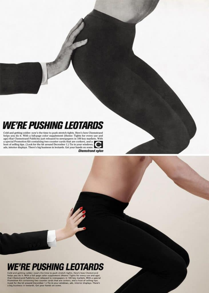 Фотограф поменял мужчин и женщин местами на старых рекламных плакатах. Справедливость восторжествовала! :) рис 8