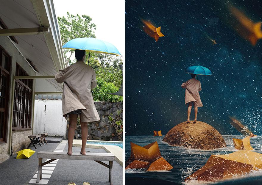 20 фото из заднего двора, которые художница превратила в сказочные картинки! рис 9