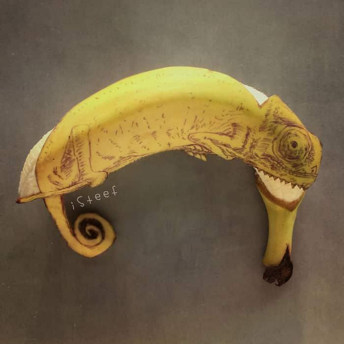 18+ бананов, превращенных художником в настоящее произведение искусства!