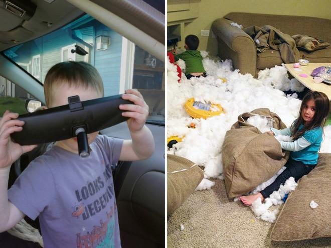 16 детей, которые перевернули дом вверх дном и не сознаются в этом