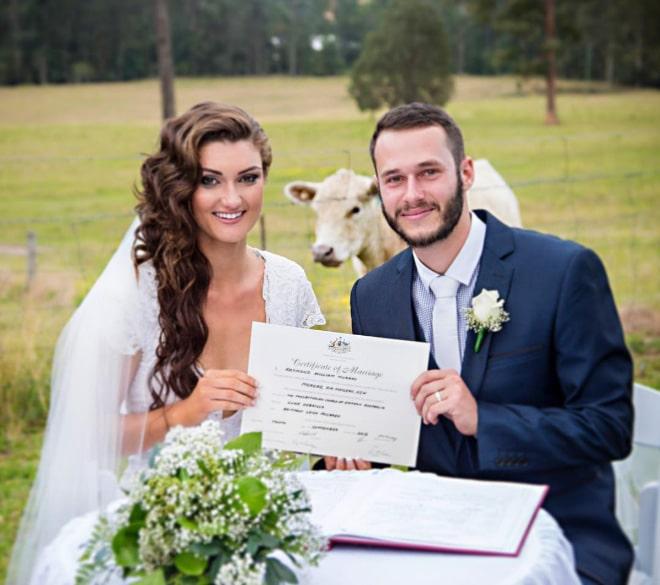 20 случайно испорченных снимков со свадьбы, ставших настоящей фотобомбой! рис 8