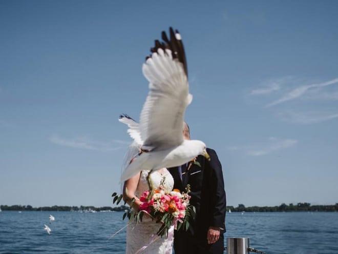 20 случайно испорченных снимков со свадьбы, ставших настоящей фотобомбой! рис 16