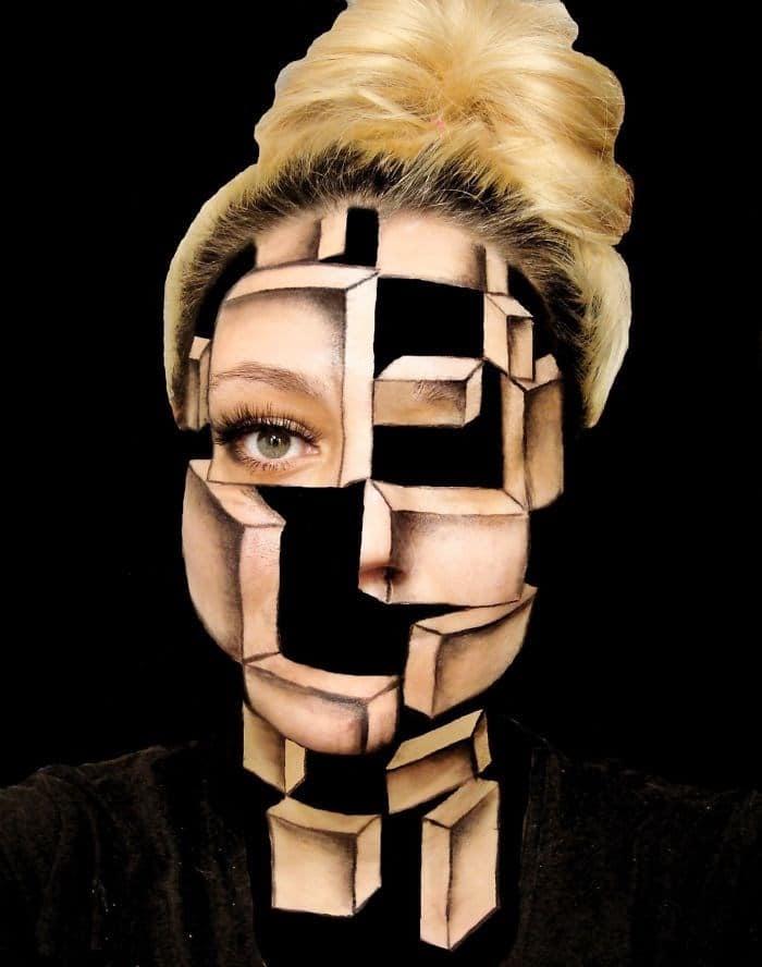 16 безумных примеров макияжа в исполнении хорватской визажистки!