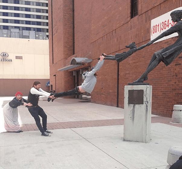 17 человек, которые вывели фото с памятником на новый уровень! рис 12