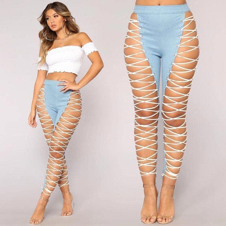 рваные джинсы 6