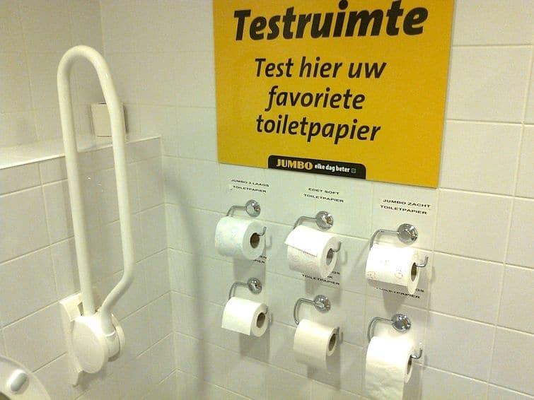 туалет супермаркета