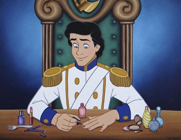 принц из мультфильма