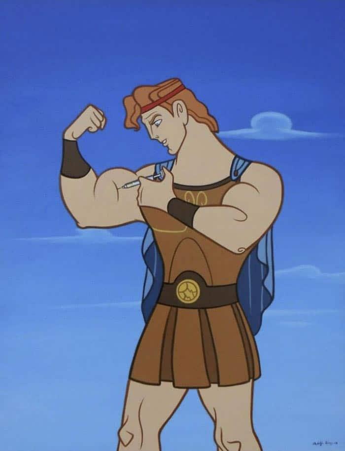 герой из мультфильма