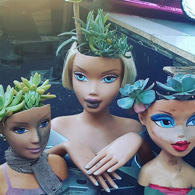 14 раз, когда головы кукол выступали в роли цветочных горшков и пугали нас до смерти! 2
