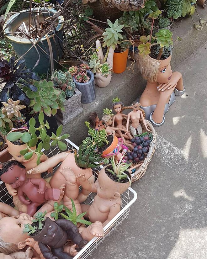 14 раз, когда головы кукол выступали в роли цветочных горшков и пугали нас до смерти! 11