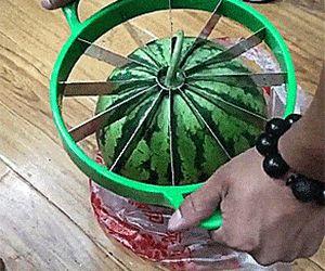идеально нарезать арбуз