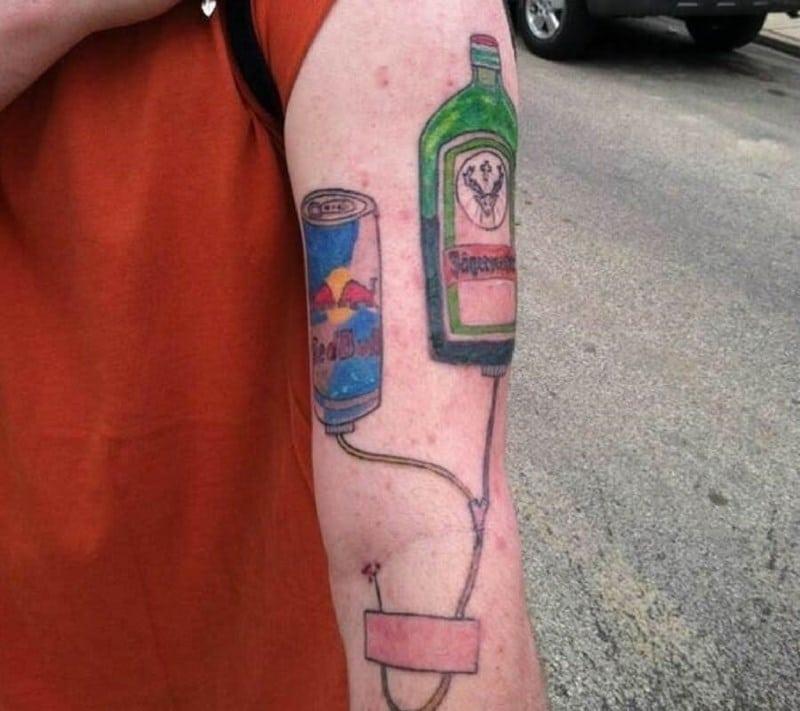 неудачная татуировка
