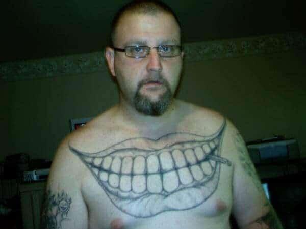 тату на мужской груди