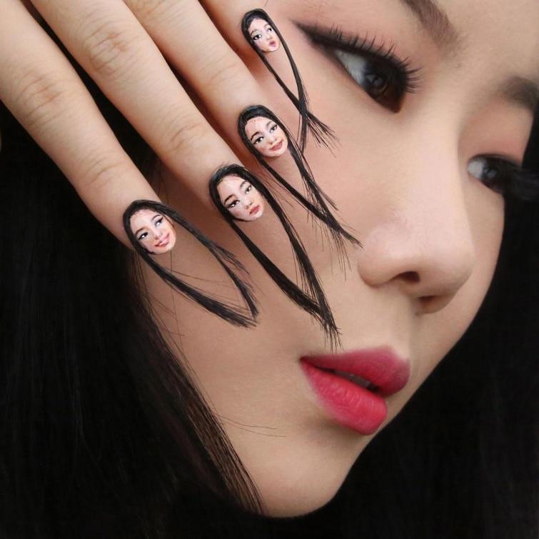ногти-лицо