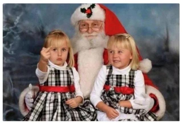 девочки с дедом морозом