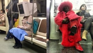12 пассажиров метро, на которых ты захочешь взглянуть дважды! + бонус