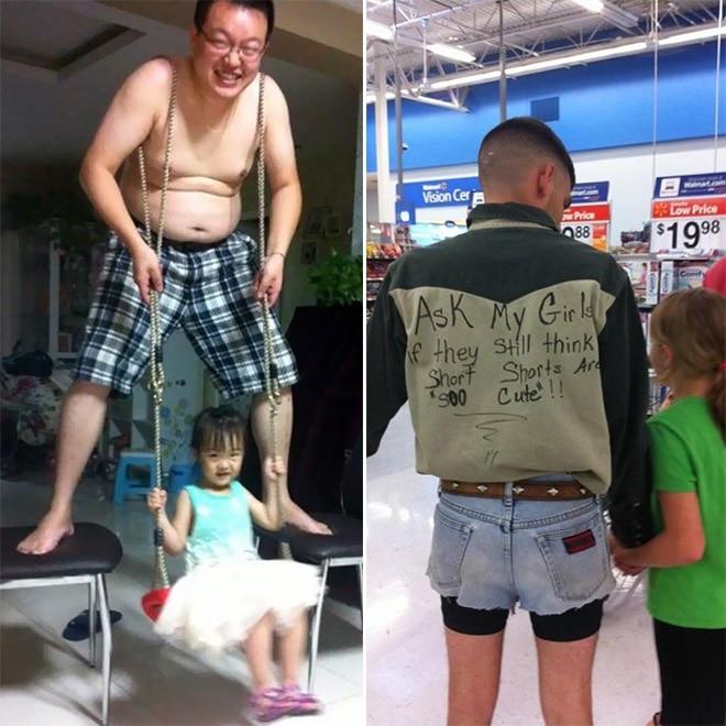 отцы с дочерьми