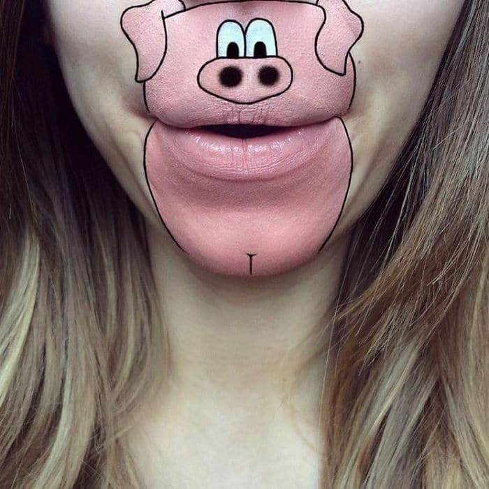 свинья из мультфильма
