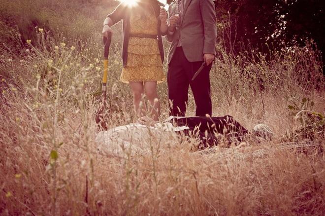 пара в поле