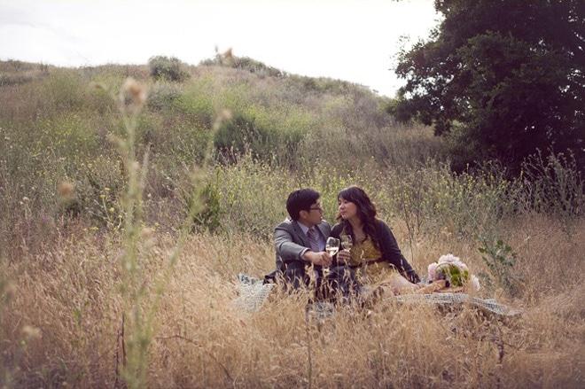 пикник в поле