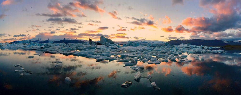 ледник в Исландии фото