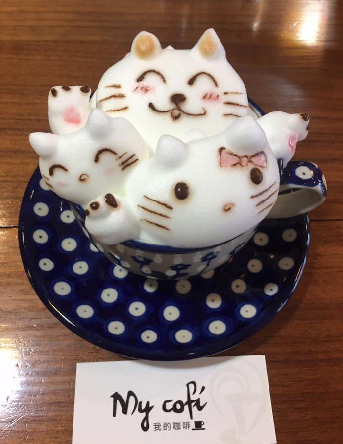 кофе с пенкой рис 2