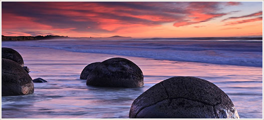 Круглые скалы пляжа Коэхоэ