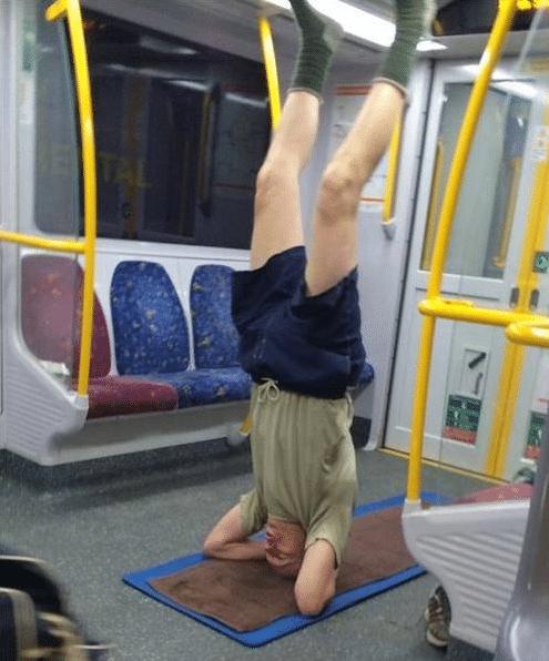 чудные люди в метро