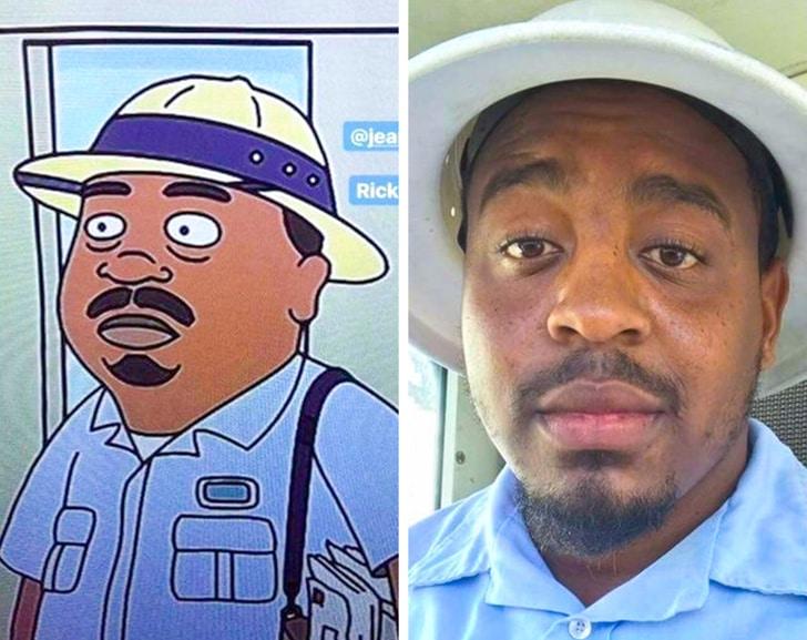 чернокожий мужчина в шляпе