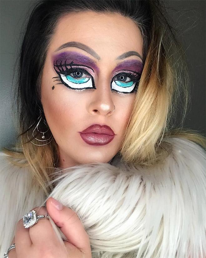 яркий макияж рис 2