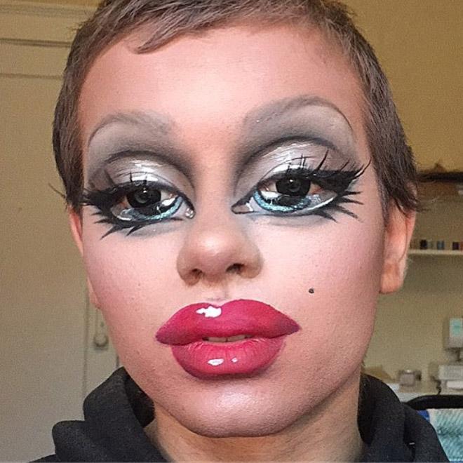 макияж в стиле bratz