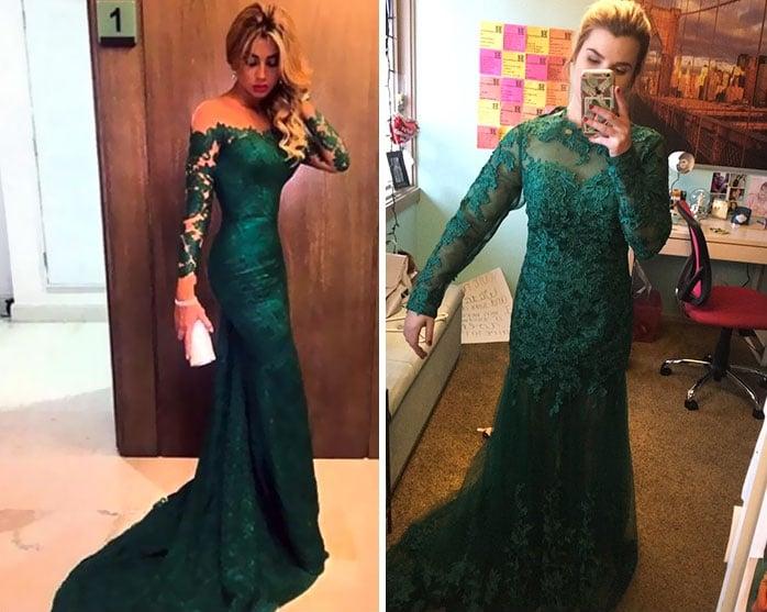 платье из интернета