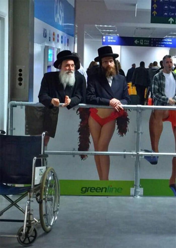 евреи в аэропорту тель-авива