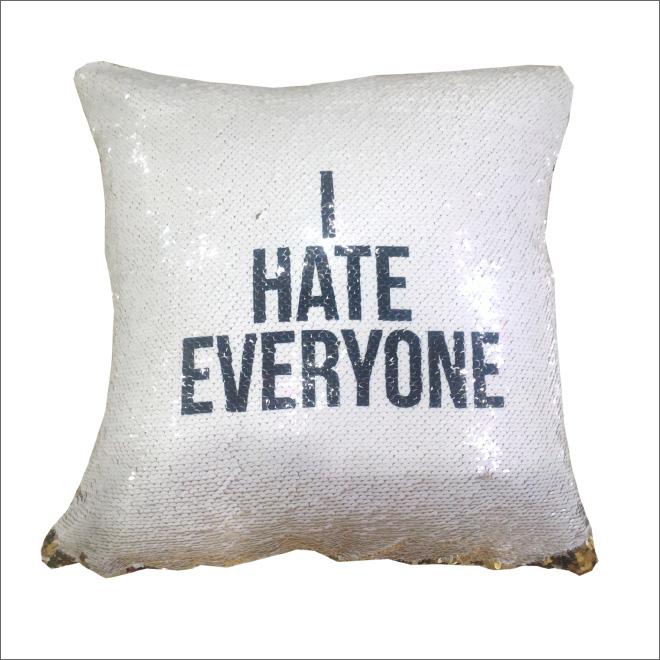 подушка с посланием