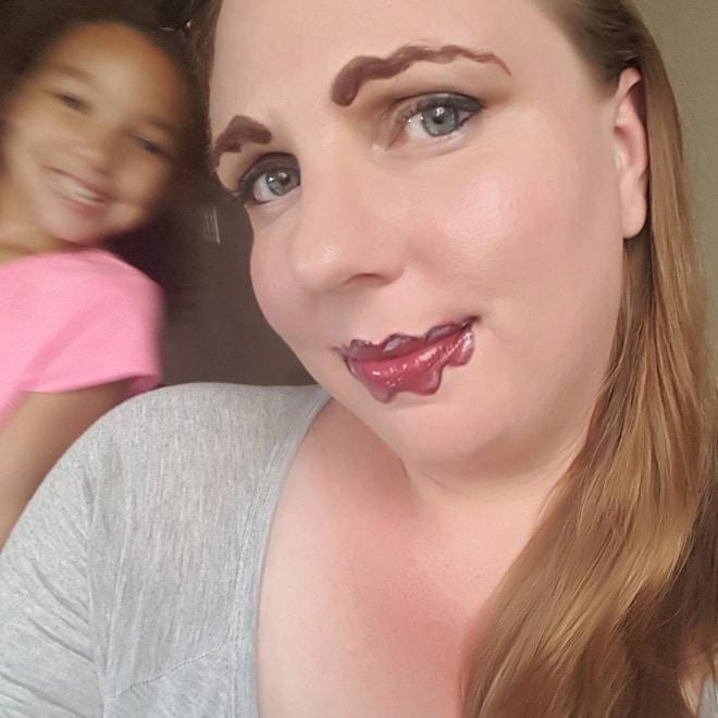 фейлы макияжа