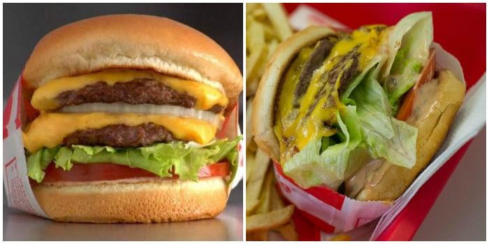 ожидание и реальность: двойной бургер