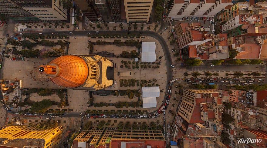 памятник революции в мехико