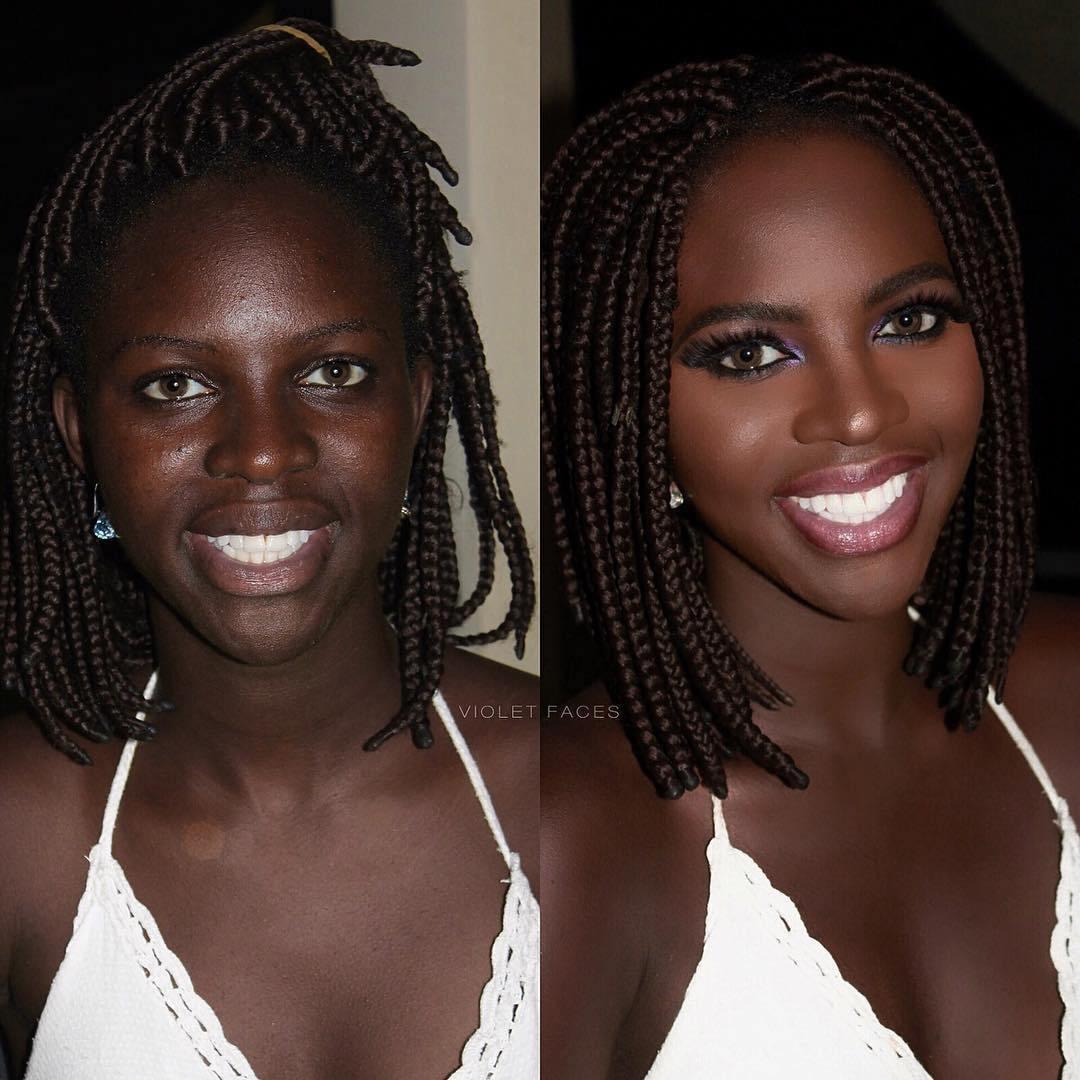 чернокожая девушка