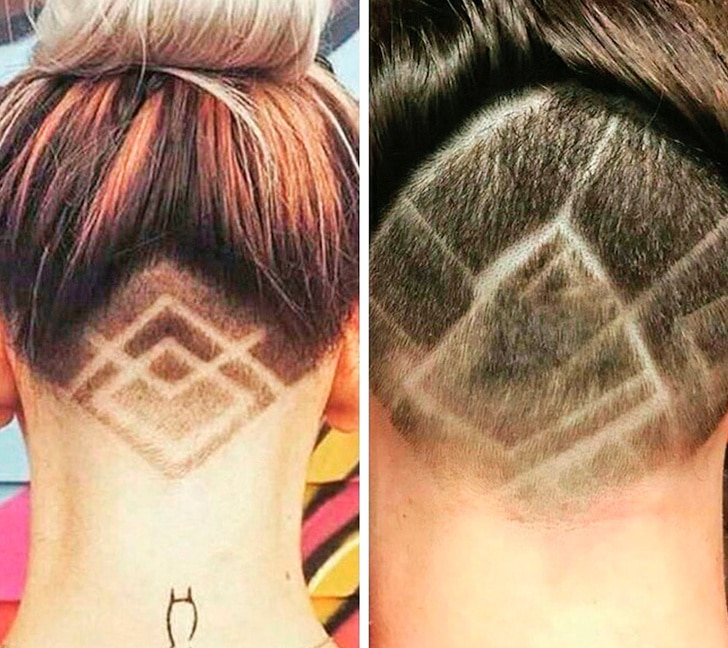 некрасивая стрижка в парикмахерской