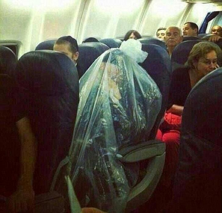 люди в самолете