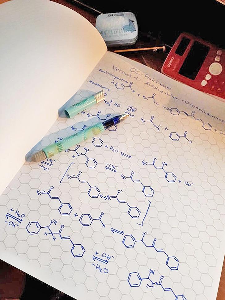 тетрадь для химии