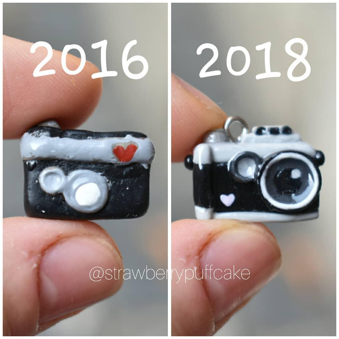 фотоаппарат из полимерной глины