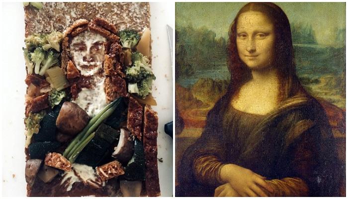 """Мона Лиза""Леонардо да Винчи"